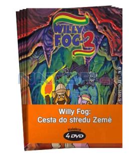 Willy Fog : Cesta do středu Země  -  kolekce  4 DVD