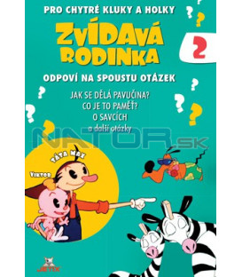 Zvídavá rodinka 02 DVD
