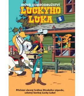 Nová dobrodružství Luckyho Luka 08 DVD