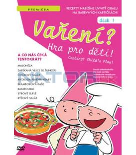 Vaření? Hra pro děti 01 DVD