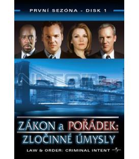 Zákon a pořádek: Zločinné úmysly 01 DVD