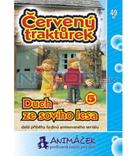 Červený traktůrek 05 DVD