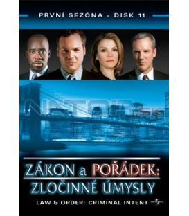 Zákon a pořádek: Zločinné úmysly 11 DVD