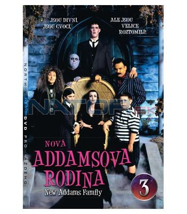 Nová Addamsova rodina 03 DVD