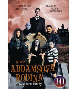 Nová Addamsova rodina 10 DVD