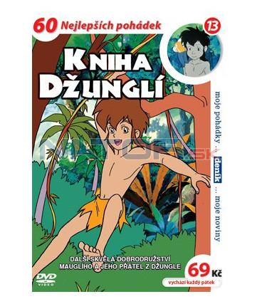 Kniha džunglí 13 DVD
