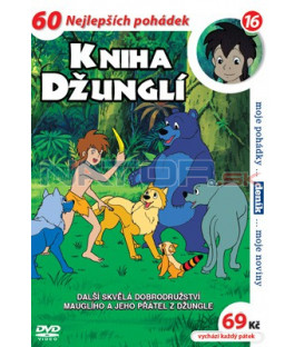 Kniha džunglí 16 DVD