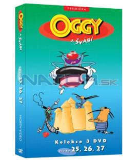 Oggy a švábi kolekce 3 DVD (25, 26, 27)