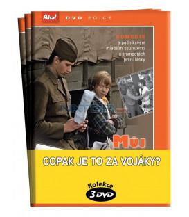 Copak je to za vojáky? - kolekce 3 DVD - Copak je to za vojáka, Brácha za všechny peníze, Můj brácha má prima bráchu