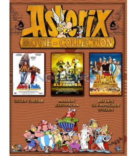 Kolekcia Asterix a Obelix (4 DVD)
