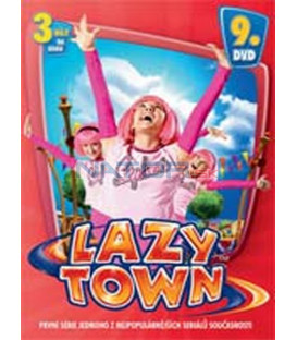LAZY TOWN – 9. DVD (LAZY TOWN) – SLIM BOX DVD