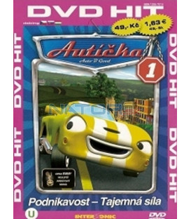 Autíčka 1 (Auto B-Good) DVD