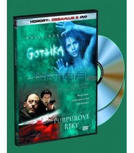 2 DVD Gothika / Purpurové řeky DVD