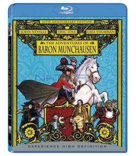Dobrodružství barona Prášila Blu-ray