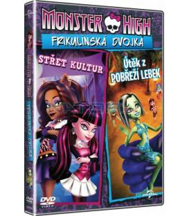 Monster High: Frikulínská dvojka DVD