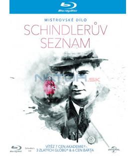 Schindlerův seznam ( Schindlers List) Blu-ray MAJSTROVSKÉ DIELA