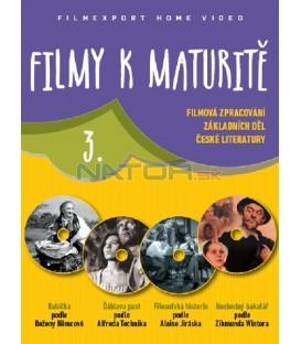 Filmy k maturitě 3 - 4x DVD