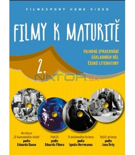 Filmy k maturitě 2 - 4x DVD