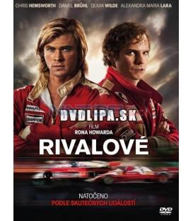 RIVALOVÉ (Rush) 2013 DVD
