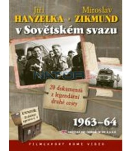 Jiří Hanzelka a Miroslav Zikmund v Sovětském svazu (2x DVD)