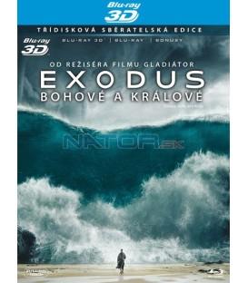 EXODUS: Bohové a králové ( Exodus: Gods and Kings) Blu-ray  (3disky, 3D + 2D + bonus disk)