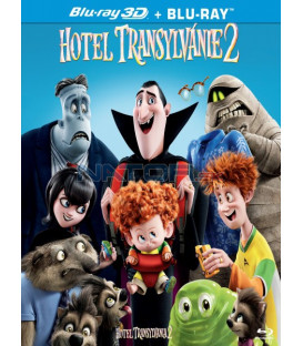 HOTEL TRANSYLVÁNIE 2 (Hotel Transylvania 2) Blu-ray 3D + 2D