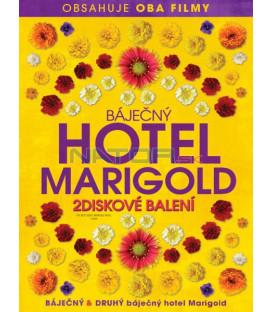 BÁJEČNÝ HOTEL MARIGOLD 1+2 - 2 DVD