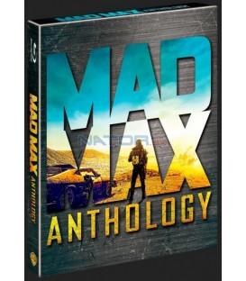 Šílený Max Antologie 1-4  4Blu-ray + DVD bonus  (Mad Max Anthology) Blu-ray