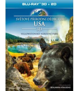 Světové přírodní dědictví: USA - Yellowstonský národní park (Blu-ray 3D)
