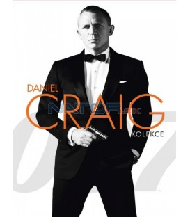 JAMES BOND: DANIEL CRAIG - KOLEKCE - 3 DVD