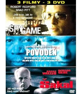 Kolekce - Spy Game / Povodeň / Šakal 3 DVD