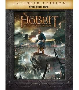 Hobit: Bitva pěti armád - prodloužená verze 5DVD (The Hobbit: The Battle of the Five Armies - Extended Edition) DVD