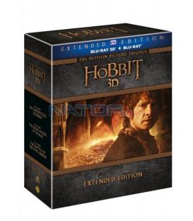 Hobit kolekce 1.-3. - prodloužené verze 15BD  Blu-ray