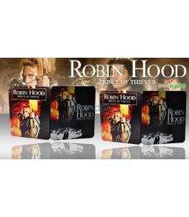 Robin Hood: Král zbojníků  (Robin Hood: Prince of Thieves) Prodloužená verze Blu-ray STEELBOOK
