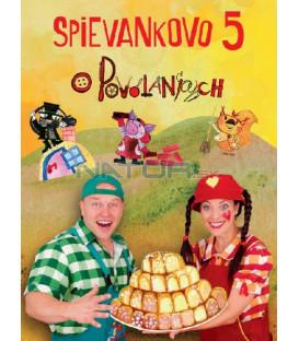 Spievankovo 5 - Podhradská/Čanaky DVD
