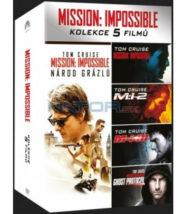 Mission: Impossible kolekce 1-5 (Mission: Impossible Collection) DVD