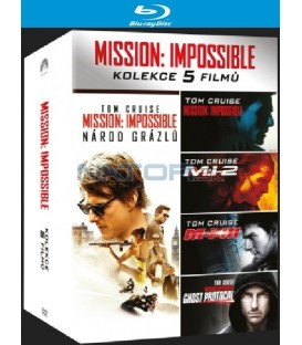 Mission: Impossible kolekce 1-5 (Mission: Impossible Collection) Blu-ray