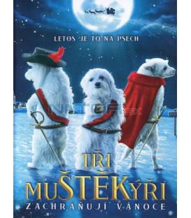 Tři muštěkýři zachraňují Vánoce (The Three Dogateers Save Christmas) DVD
