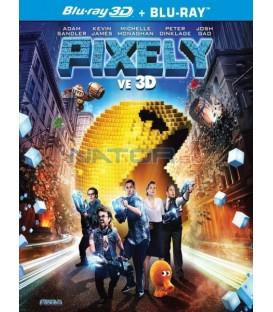 Pixely (Pixely) Pacman edice 2 disky, 3D + 2D Blu-ray