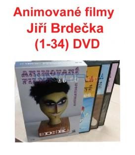 Animované filmy Jiří Brdečka (1-34) DVD