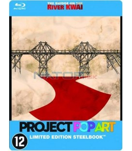 Most přes řeku Kwai (The Bridge on the River Kwai) POP ART Steelbook