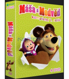 Máša a medveď kolekcia 1-4 DVD