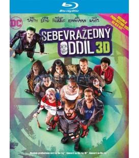 Sebevražedný oddíl (Suicide Squad) prodloužená verze Blu-ray 3D + 2D +2D