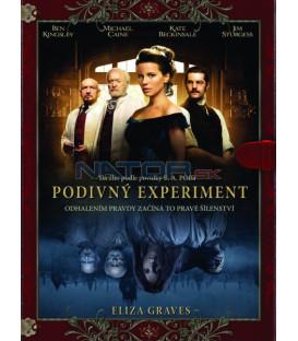 E.A. Poe: Podivný experiment (Stonehearst Asylum) Knižní edice DVD