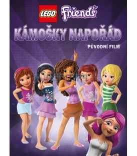 Lego Friends: Kámošky napořád (Lego Friends: Girlz 4 Life) DVD