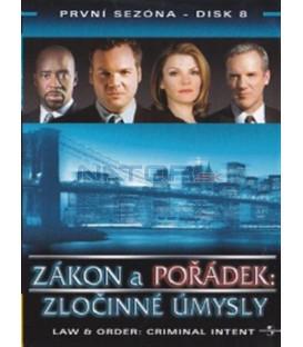 Zákon a pořádek: Zločinné úmysly 08 DVD