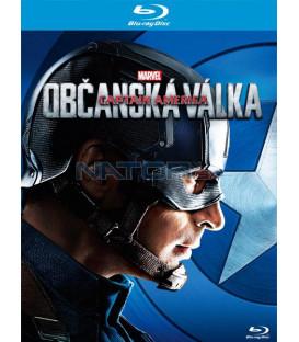 Captain America: Občanská válka - Captain America  (Captain America: Civil War)  Blu-ray