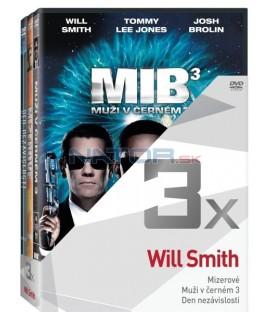 Kolekce:Will Smith (Mizerové, Muži v černém 3, Den nezávislosti) 3DVD