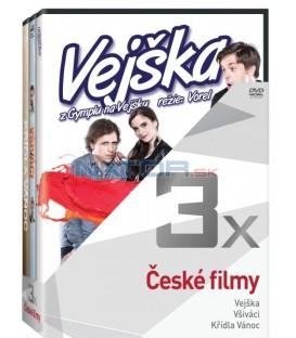 Kolekce:České filmy (Vejška, Všiváci, Křídla Vánoc) 3DVD
