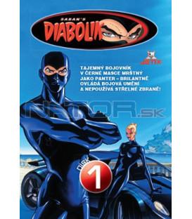 Diabolik 1 - kolekce 4 DVD